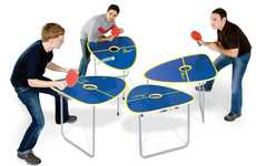 Quartet Ping Pong Counters
