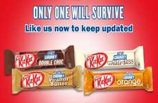 Crowdsourced Candy Bar Flavors - Kit Kat 'Choose a Chunky Champion' Asks You to Pick a Favorite