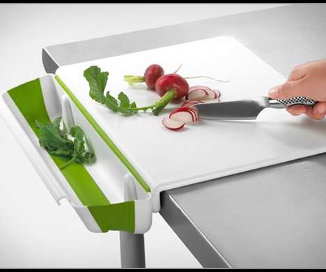 Garbage Containing Cutting Boards