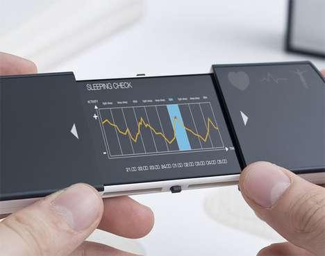 Body Vital-Monitoring Mobiles
