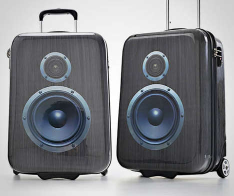 Beat-Blasting Luggage Designs