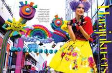 Decora-Inspired Editorials - The Harper's Bazaar Indonesia 'Harajuku-ers' Shoot is Vibrantly Funky