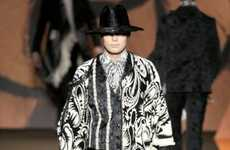 Modern Gypsy Menswear - The Etro Fall/Winter Menswear Collection is Eccentric
