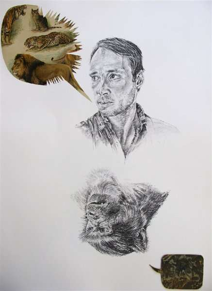 Monkey Vs. Man Portraits