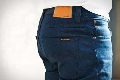Eco-Friendly Denim - The Nudie Post Recycle Dry Jeans are Made Out of Old Nudie Products