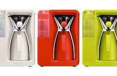 Colorful Contemporary Brewers - The Bodum Bistro Pour Over Coffee Machine Has a Fresh Facelift