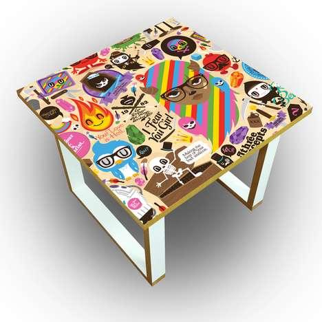 Sunny Graffiti Furniture