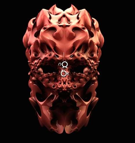 Somber Sci-Fi Masks