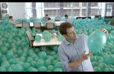 Interactive Inflatable Branding - Heineken's 'Like for Balloon' Friend Finding Tactic Lifts Of