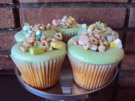 Cereal-Clad Cakes