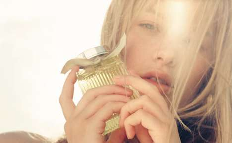 Sun-Kissed Perfume Campaigns