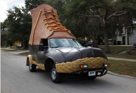 Giant Footwear Vehicles