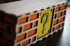 Retro Gamer Lighting - The Mario Question Mark Block Lamp is Perfect for a Child's Room