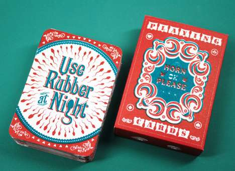 AIDS Prevention Playing Cards