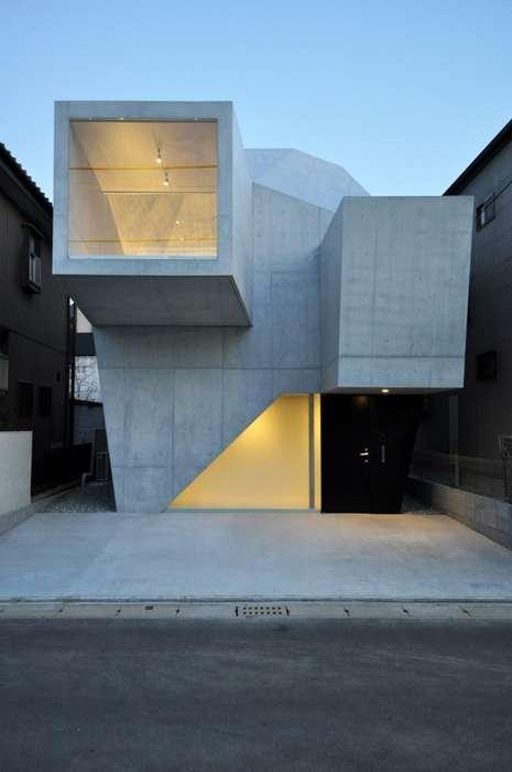 Geometrical Concrete Homes