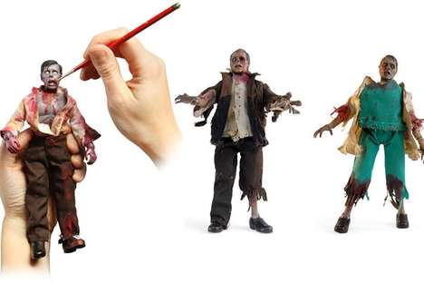 DIY Undead Toys - The Zombie Customizable Action Figure Kit Encourages Scary Creativity