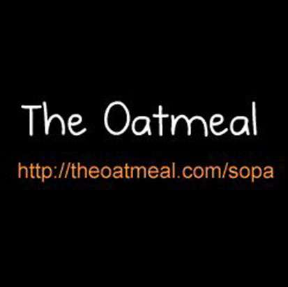 Founder of TheOatmeal.com Matthew Inman Creates the SOPA/PIPA GIF