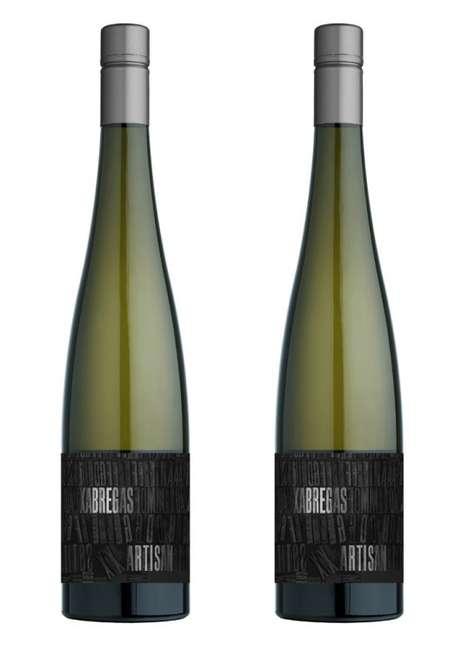Elongated Vino Bottles