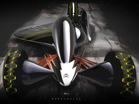Low-Slung Concept Racers