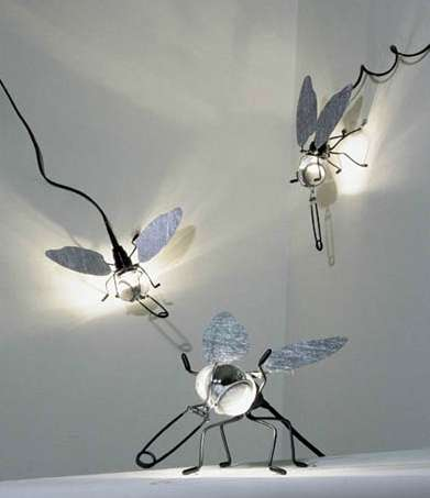 Insect-Shaped Lighting