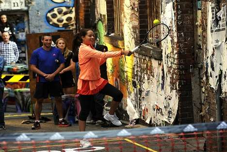 Back Alley Tennis Matches