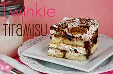 Layered Snack Cake Desserts - The Twinkie Tiramisu is the Picture of Unpretentious Bliss