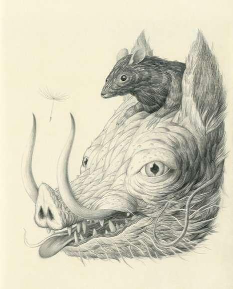 Hybrid Mythological Sketches