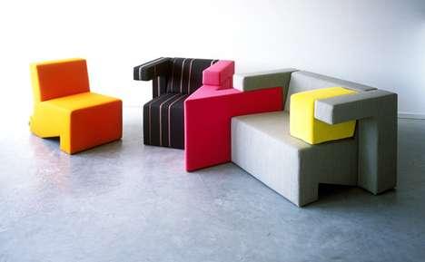 Eccentric Tetris-Style Sofas
