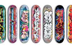 Street Art Skateboards - 'TheSeventhLetter' for ZOOYORK Presents Seven Sick Graffiti Decks