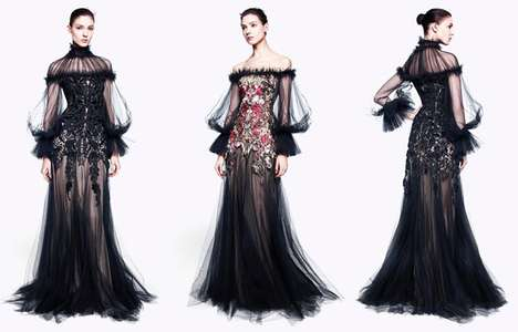 Gothic Sheer Fashion