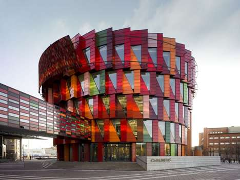 Candy-Colored Schools - The Chalmers Campus Lindholmen Makes Learning Fun