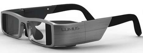 Hi-Tech Projecting Eyewear - Lumus Glasses Lets You View Video, TV and Internet Content