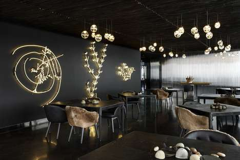 Sleek Wilderness-Inspired Interiors - Vue de monde Flagship by Elenberg Fraser