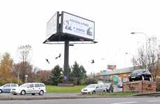 Spinning Billboard Swings - The Kolotoc 'Merry-Go-Round' Project is Amusement via Advertisements