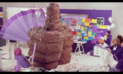 Cadbury Makes Giant Chocolate Thumbs up for 1 Million Followers
