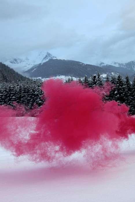Sulking Neon Smoke Photography