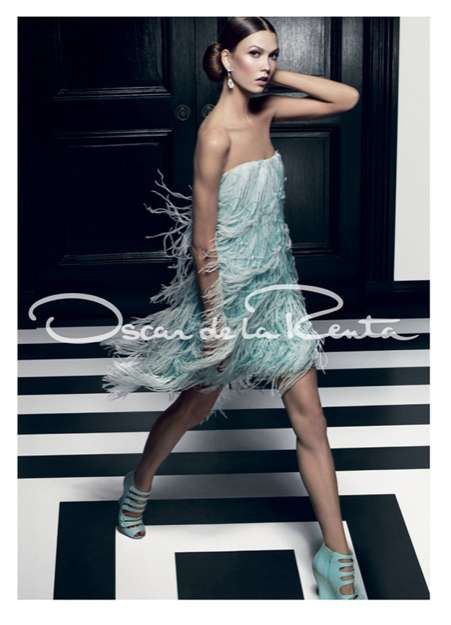 Aqua-Hued Fringed Frocks