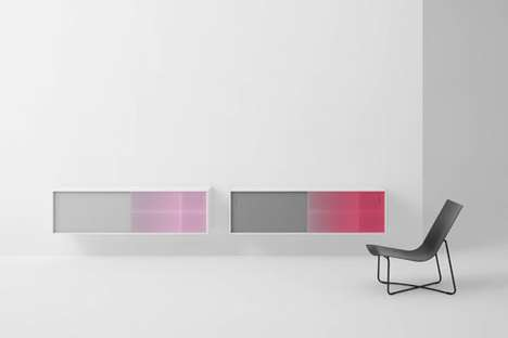 Gradient-Changing Cabinets