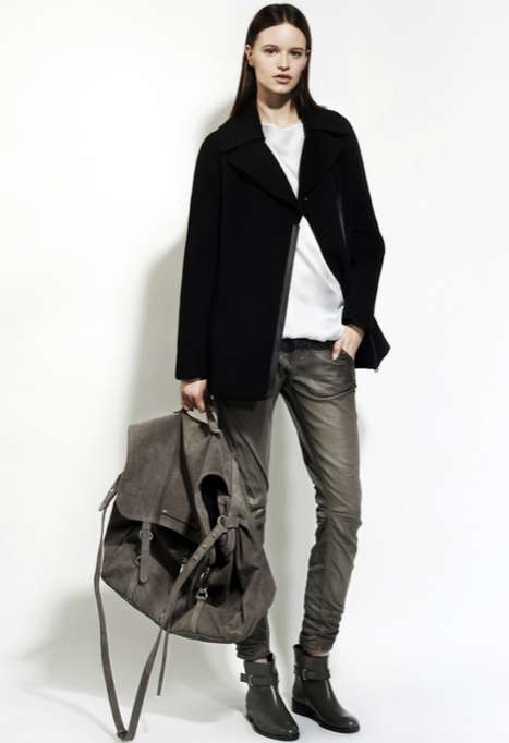 Diesel Black Gold Pre-Fall 2012 Collection is Full of Leather