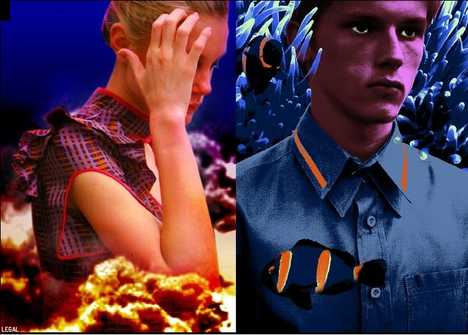 Ad Features Eco-Superficiality - Trembled Blossoms by PRADA