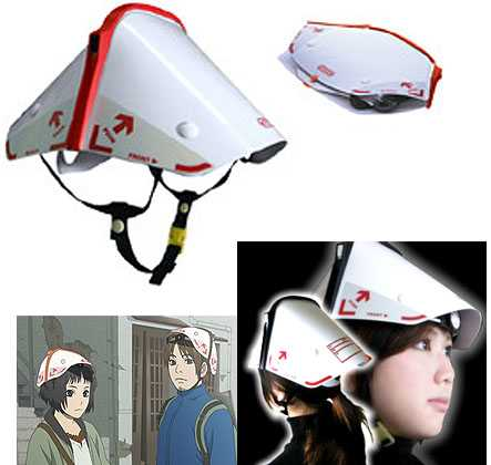 Collapsible Earthquake Helmet - Tatamet