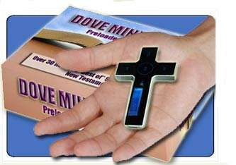 Christian Fashion Statement: Cross MP3 Player with Bible Audio