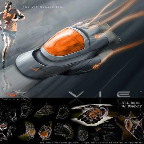 Amazing GPS Sports Glove