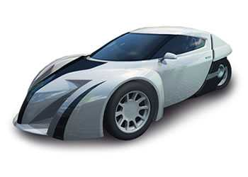 $30,000 3-Wheeled Electric Car is Faster than A Porsche