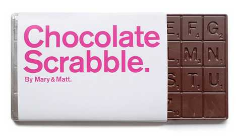 Chocolate Scrabble - Eat Your Own Words