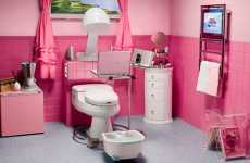 Pimped out Powder Room