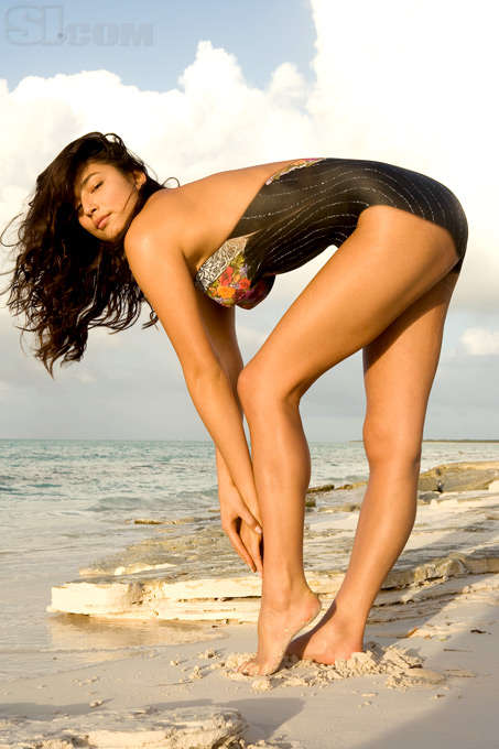 Wearing Nothing - Sports Illustrated 2008 Body Paint Shoot