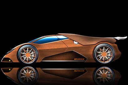 World's First Wooden Supercar