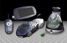 Hydrogen Powered Car Requires Only Water And Sunlight