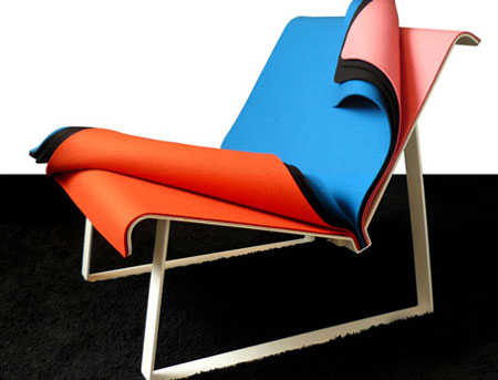 Layered 'Chameleon' Furniture - Oz Chair